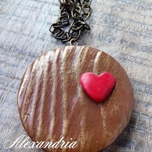 A szerelem fája - ékszer - nyaklánc - medálos nyaklánc - Meska.hu