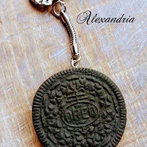 Mi lenne ha adnék egy Oreot? - táska & tok - kulcstartó & táskadísz - kulcstartó - Meska.hu