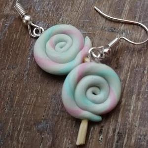 Lollipop fülbevaló - ékszer - fülbevaló - lógó fülbevaló - Meska.hu