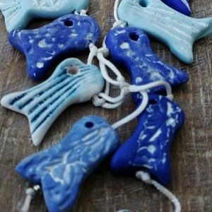 Kék tenger nyaklánc  - Meska.hu