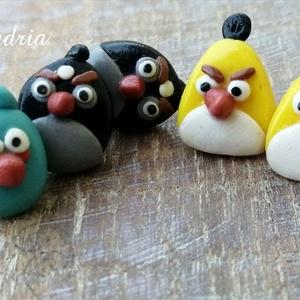 Angry birds fülik (Alexandria) - Meska.hu