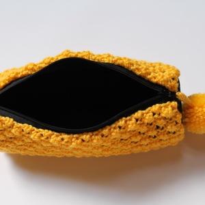 Henger alakú tolltartó/neszesszer (sárga) -  - Meska.hu