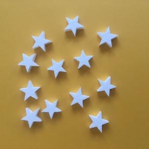 Hungarocell figurák – csillagok (12db), Díszíthető tárgyak, Hungarocell, Mindenmás, 12 darab hungarocell csillag egy csomagban. Mérete: 3x3x1cm\nDekorációkhoz jól használható.\nBármilyen..., Meska