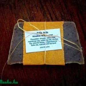 Zöldteás szappan (alomkucko) - Meska.hu