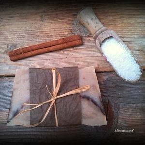 Kókuszos-fahéjas szappan kókusztejjel (alomkucko) - Meska.hu