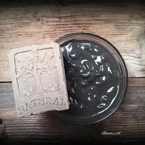 Holt tengeri iszapos szappan sheavajjal, Szépségápolás, Szappan & Fürdés, Szappan, Szappankészítés, Életfa mintás\n\nÖsszetétel: olívaolaj, kókuszolaj, napraforgó olaj, sheavaj, kecsketej, víz, lúg, hol..., Meska