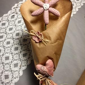 Egy szál margaréta, Otthon & Lakás, Dekoráció, Csokor & Virágdísz, Különleges ajándék lehet bármilyen alkalomra, akár a közeledő anyáknapjára is. Bármilyen színben ren..., Meska