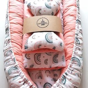 babafészek termékcsalád, Játék & Gyerek, Babalátogató ajándékcsomag, A babafészek termékcsalád 5 részes, mely a következőket tartalmazza: babafészek, kivehető betét, min..., Meska