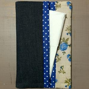 Papírzsebkendő tartó - romantikus, újrahasznosított, Táska & Tok, Pénztárca & Más tok, Zsebkendőtartó, Varrás, Tavaszi akció!\n\nLegyen a te táskádban is egy ilyen apróság.\n\nNáthás időszakban a textil zsebkendő he..., Meska