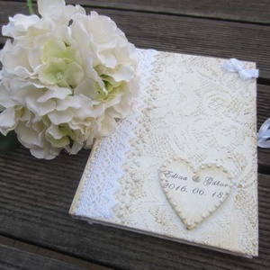 Esküvői vendégkönyv - Meska.hu