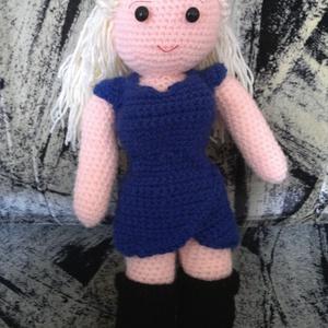 Daenerys Targaryen - horgolt figura a Trónok Harca világából - játék & gyerek - plüssállat & játékfigura - ember - Meska.hu