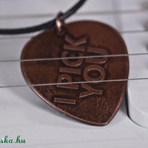 I pick you -idézetes fém ékszer (amuletta) - Meska.hu