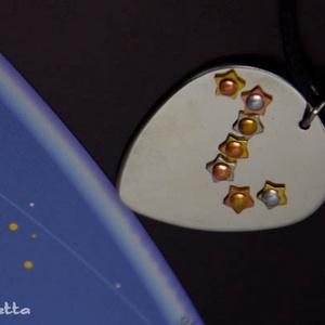 Csillag medál, - Göncölszekér csillagkép ideális ajándék Karácsonyra (amuletta) - Meska.hu