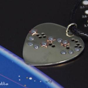 Skorpió csillagkép - Csillag medál, horoszkóp nyaklánc - Ideális ajándék születésnapra és Karácsonyra (amuletta) - Meska.hu