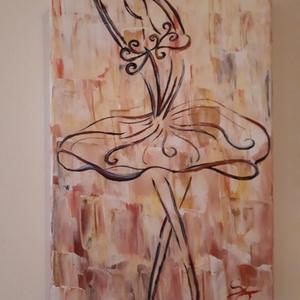 Álmodozás, Dekoráció, Otthon & lakás, Képzőművészet, Festmény, Lakberendezés, Festészet, A festmény mérete : 20×30×2 cm.\nAkril festékkel készült, festőkés és ecset használatával, feszített ..., Meska