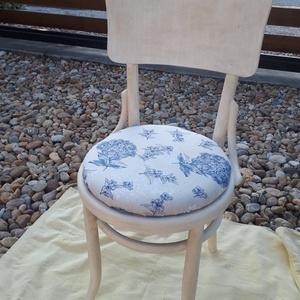 Vintage thonet szék, Otthon & lakás, Bútor, Szék, fotel, Festett tárgyak, Mindenmás, Újratervezett thonet szék vintage stílusban.Nagyon kellemes ,kifinomult darab.\nKrémfehér krétafesték..., Meska