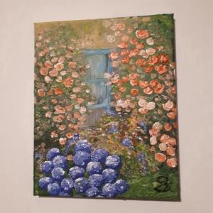 Nyugalom-festmény, Művészet, Akril, Festmény, Festészet, Meska