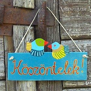 Fészek - Ajtódísz (Anasztazia) - Meska.hu