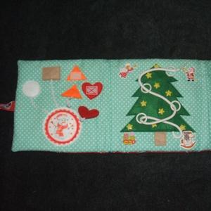 Karácsonyi csendeskönyv (Ancsivarrasai) - Meska.hu