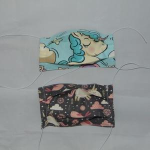 Gyerek textil maszk csomag, Gyerek & játék, NoWaste, Textilek, Táska, Divat & Szépség, Szépség(ápolás), Maszk, szájmaszk, Varrás, Gyerek maszk. Pamutból készült kétrétegű textil szájmaszk. Kívül mintás belül sima fehér pamutvászon..., Meska