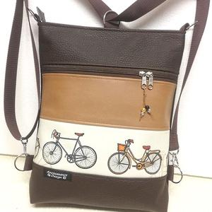 Biciklis 3in1 női hátizsák divattáska oldaltáska