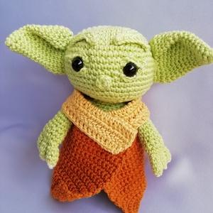 Horgolt Baby Yoda, Otthon & Lakás, Dekoráció, Horgolás, Meska