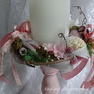 Vintage asztali dekoráció (Andartdecoration) - Meska.hu