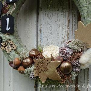 Őszi fények ajtódísz - otthon & lakás - dekoráció - ajtódísz & kopogtató - Meska.hu