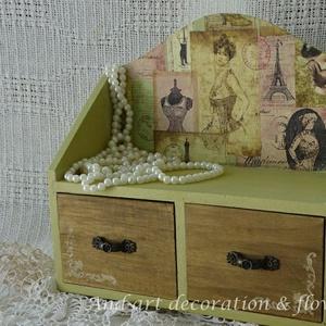 Vintage kis  fiókos (Andartdecoration) - Meska.hu