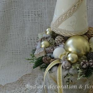 Karácsonyi elegancia. Dekoráció (Andartdecoration) - Meska.hu