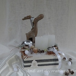 Szarvasfalva - ünnepi dekoráció. (Andartdecoration) - Meska.hu