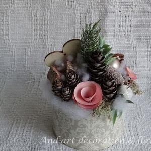 Vintage - Karácsony. Asztali dekoráció (Andartdecoration) - Meska.hu