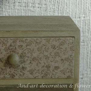 Fiókos kis szekrény- tároló (Andartdecoration) - Meska.hu