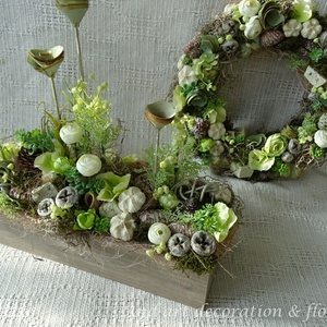 Green apple kollekció. Tavaszi dekoráció szettben. (Andartdecoration) - Meska.hu