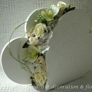 Esküvői asztaldekoráció romantikusan... And-art mód. (Andartdecoration) - Meska.hu