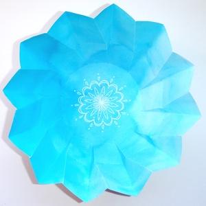 Világos kék ajándékdoboz (andidea) - Meska.hu