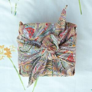 Furoshiki ajándékcsomagoló kendő - origami bag hulladékmentes vásárláshoz - zero waste ajándék  (andindadesign) - Meska.hu
