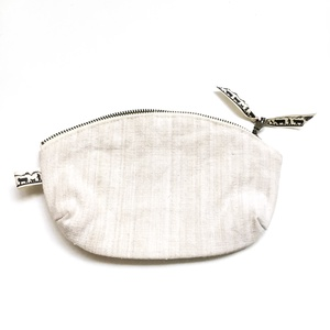 Neszesszer, kistáska lenből maszkoknak utazáshoz, táskába, kozmetikumok tárolására, ajándéknak  (andindadesign) - Meska.hu