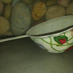 Pipacsok: virágmintás tároló/dekor falusias design - Meska.hu