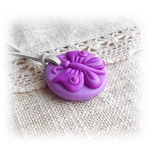 Lilla, a lila pillangó : ) (andreart) - Meska.hu