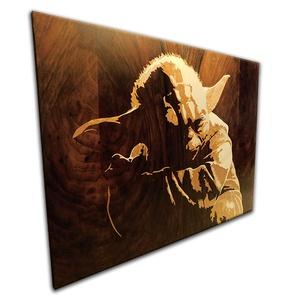 Yoda mester a star warsból, fából készült Itarzia falikép, Dekoráció, Otthon & lakás, Kép, Képzőművészet, Vegyes technika, Famegmunkálás, A képen látható termék, már elkelt, de eltudom készíteni ugyanezt a karaktert, vagy ha más kedvenc v..., Meska