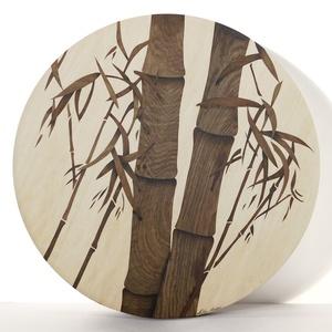 Bambusz intarzia , Falra akasztható dekor, Dekoráció, Otthon & Lakás, Famegmunkálás, Két egyforma intarzia NINCS, ez egy valóban eredeti alkotás, minden képem kézzel készül az Ön igényé..., Meska