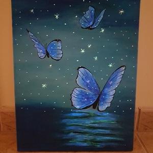Világító pillangók (Andyjrainbow) - Meska.hu