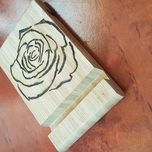 Asztali telefontartó, rózsa (Andyjrainbow) - Meska.hu