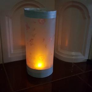 Lampion, virágos (Andyjrainbow) - Meska.hu