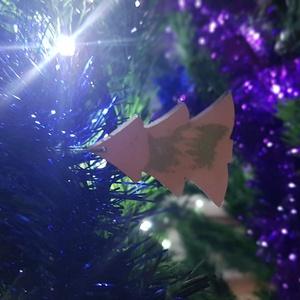 Karácsonyfadísz, fenyő 5. - karácsony - karácsonyi lakásdekoráció - karácsonyfadíszek - Meska.hu