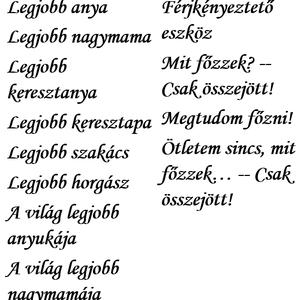 Egyedi fakanál - mosoly 1. - otthon & lakás - konyhafelszerelés - Meska.hu