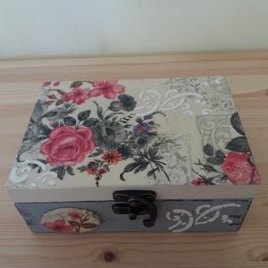 Virágos doboz (Aneta1608) - Meska.hu
