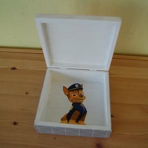Mancs őrjárat doboz (Aneta1608) - Meska.hu