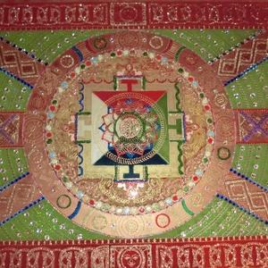 tibeti mandala - Meska.hu